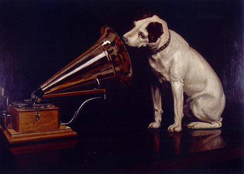"""His Master's Voice"" by Beverly & Pack"