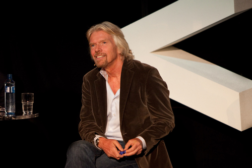 Sir Richard Branson by Jarle Naustvik