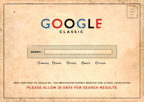 Google Classic by Brett Jordan