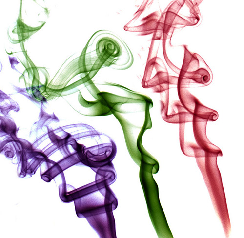 three colours smoke by Julian Burgess