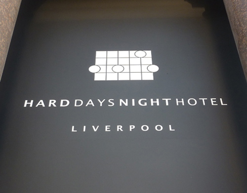 The Hard Day's Night Hotel logo