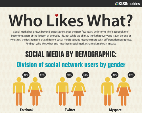 Who Likes What: Social Media By Demographic
