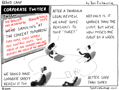 Corporate Twitter by Tom Fishburne