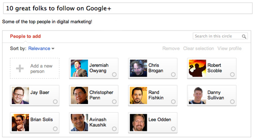 10 great folks to follow on Google+