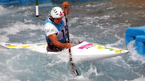 Canoe slalom by The Department for Culture, Media and Sport