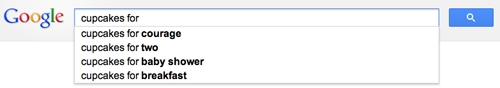 Consumer search on Google