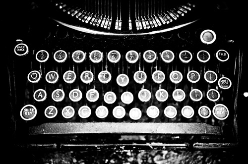Typewriter B/W....now write the story by geishaboy500