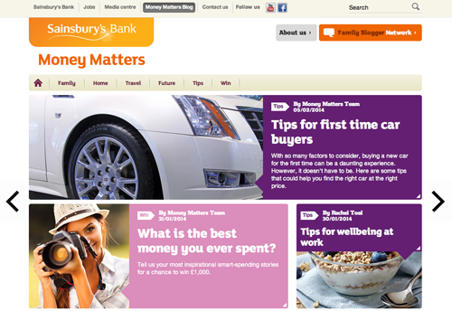 Sainsbury's Money Matters